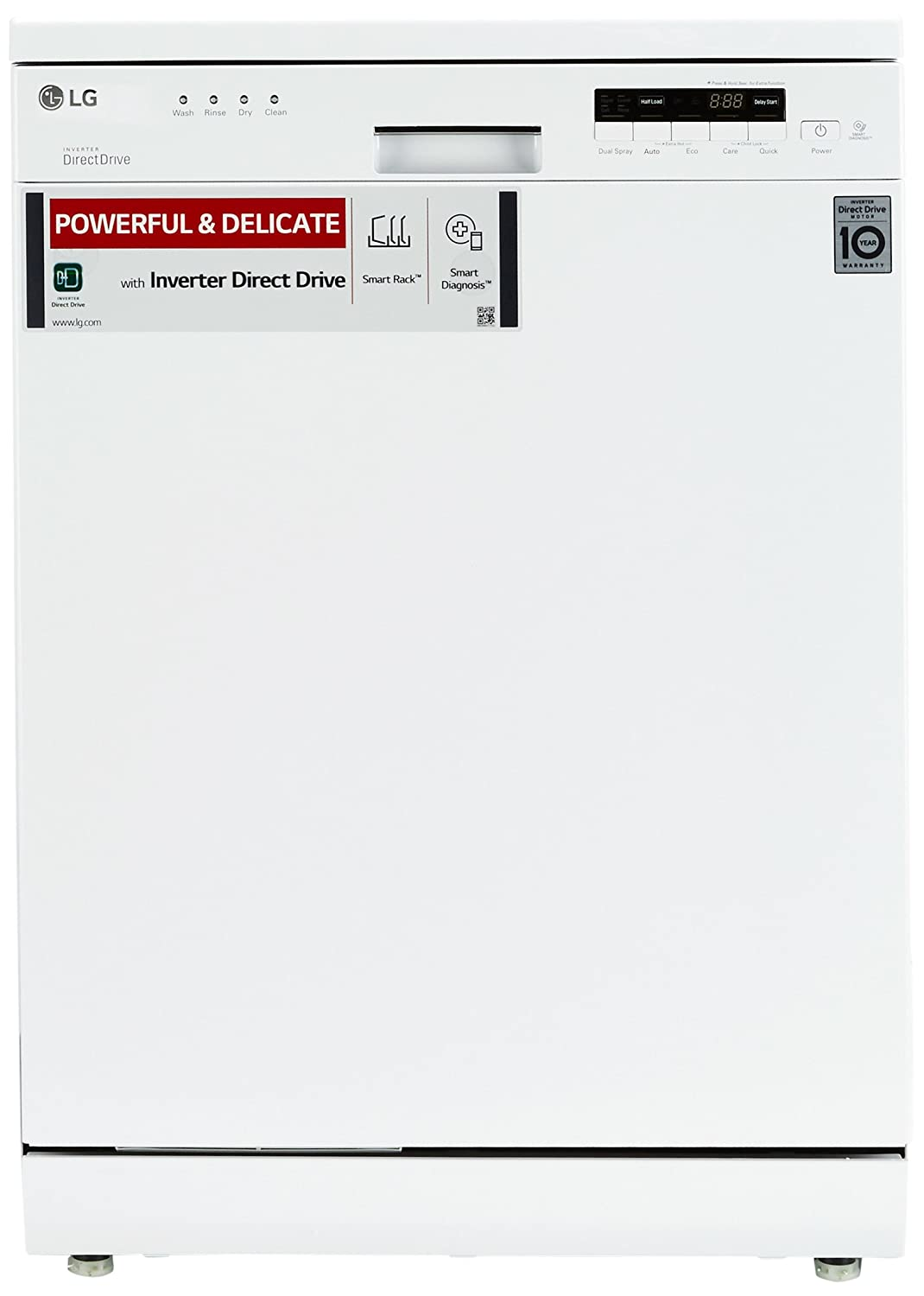 LG D1451WF Dishwasher (14 Place Settings)
