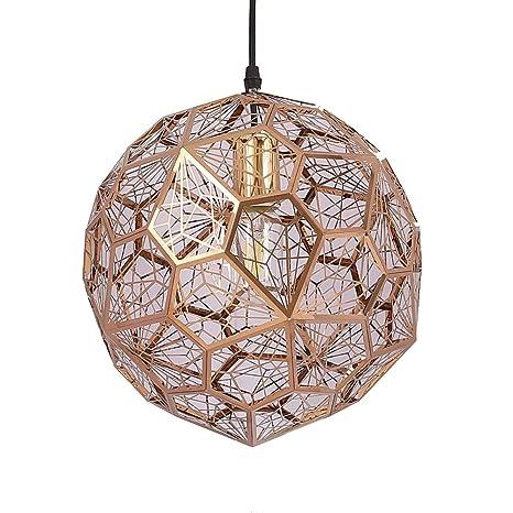 Amazon.com: Lámpara colgante de bola de diamante de acero ...