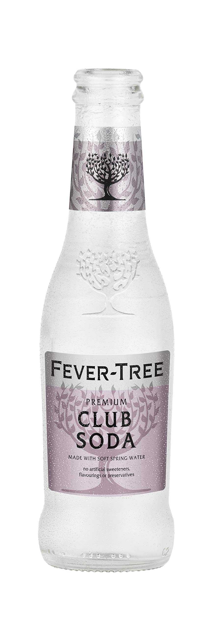 Fever-Tree Club Soda, 6.8 Ounce Glass Bottles (Pack of 24)