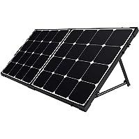 Renogy 100/200 Watt 12 Volt Monocrystalline Off Grid Portable Foldable Solar Panel Suitcase