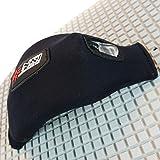 NSI Ratchet Kiteboard Foot Straps - Black