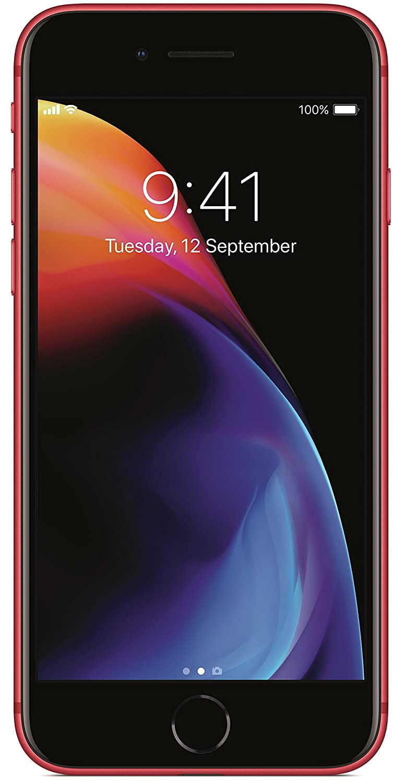 Apple iPhone 8 (Red, 64GB)