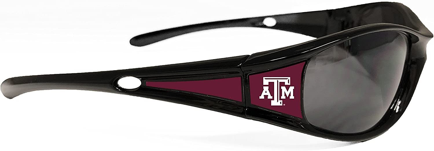 UVA and UVB Protection-Many Teams! From the Heart NCAA Black Elite 3 Sunglasses