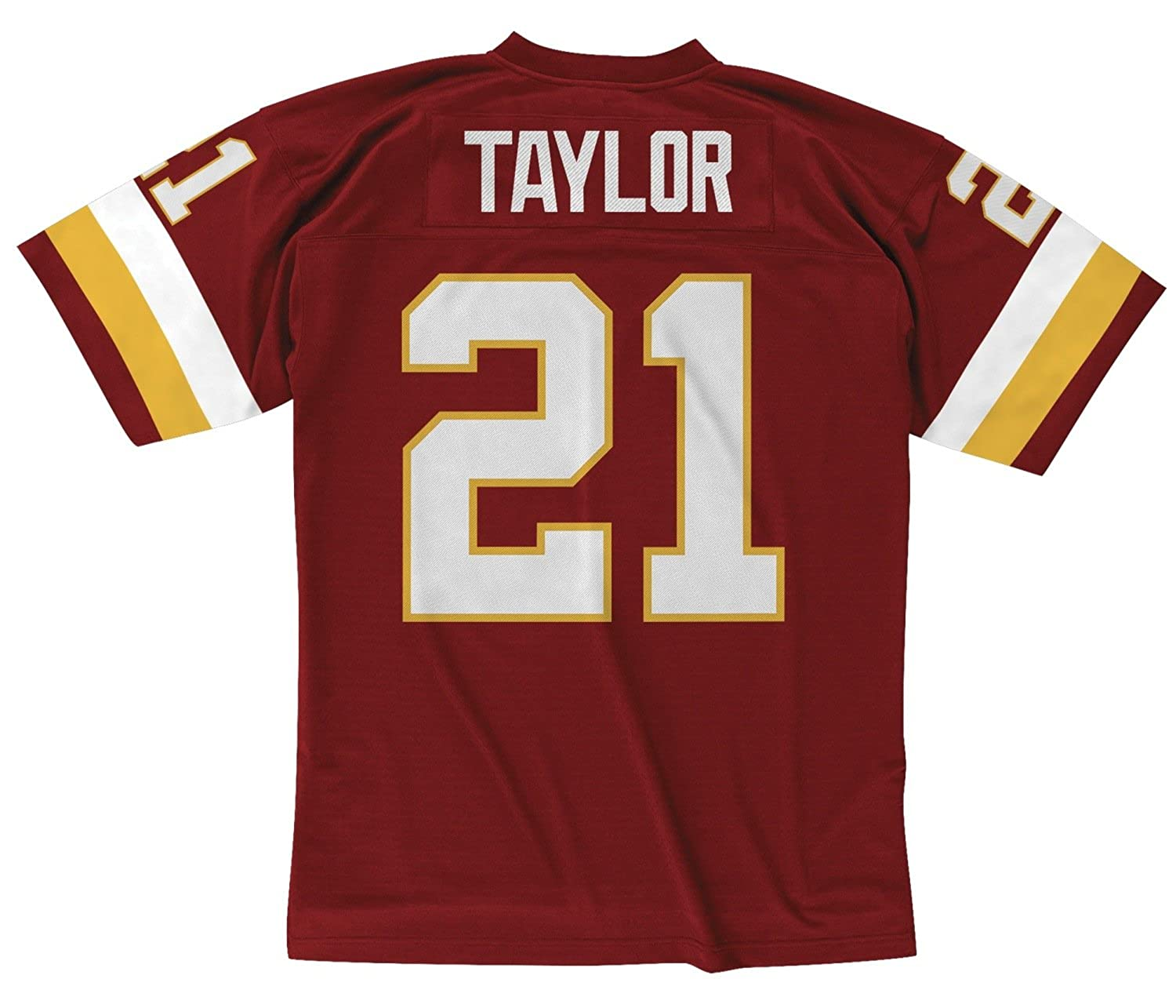 best service d23c9 7527d Mitchell & Ness Sean Taylor Washington Redskins NFL Throwback Premier Jersey