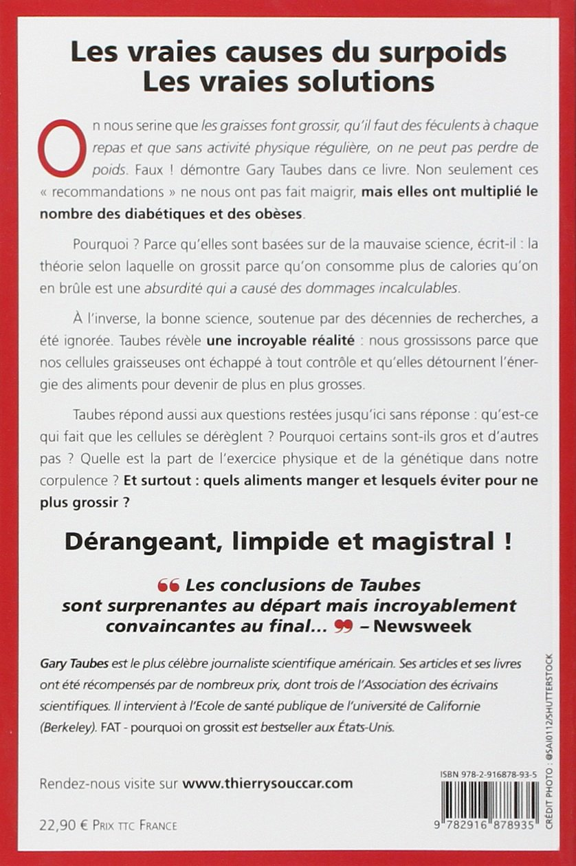 7866fdbb137 Pourquoi on grossit  ancienne édition   Amazon.ca  Gary Taubes  Books