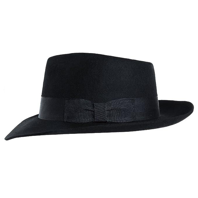 50% rebajado extremadamente único mejor calidad MJB2C Men's Michael Jackson Hat (Black, Medium): Amazon.in ...