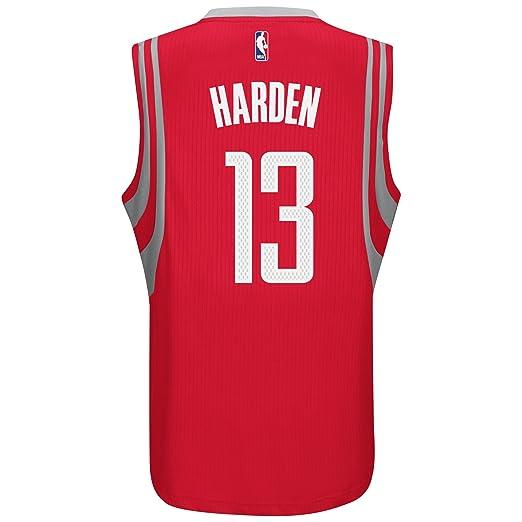 b2af0fc68848d Amazon.com : James Harden Houston Rockets Adidas NBA Swingman Jersey ...