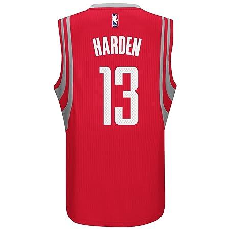 636134bbf Amazon.com   James Harden Houston Rockets Adidas Road Swingman Jersey (Red)    Sports   Outdoors