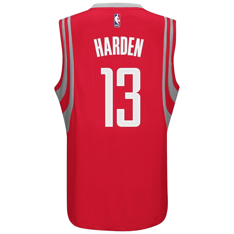 ... Christmas Day White Jersey James Harden Houston Rockets Adidas NBA  Swingman Jersey - Red Amazon.co.uk Clothing ... 29a292450