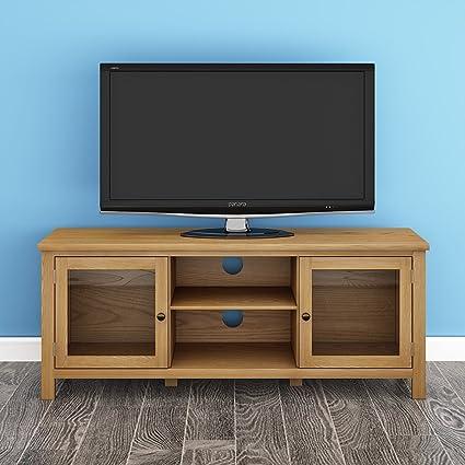 Ruication Mobile porta TV moderno in rovere massiccio ad ...