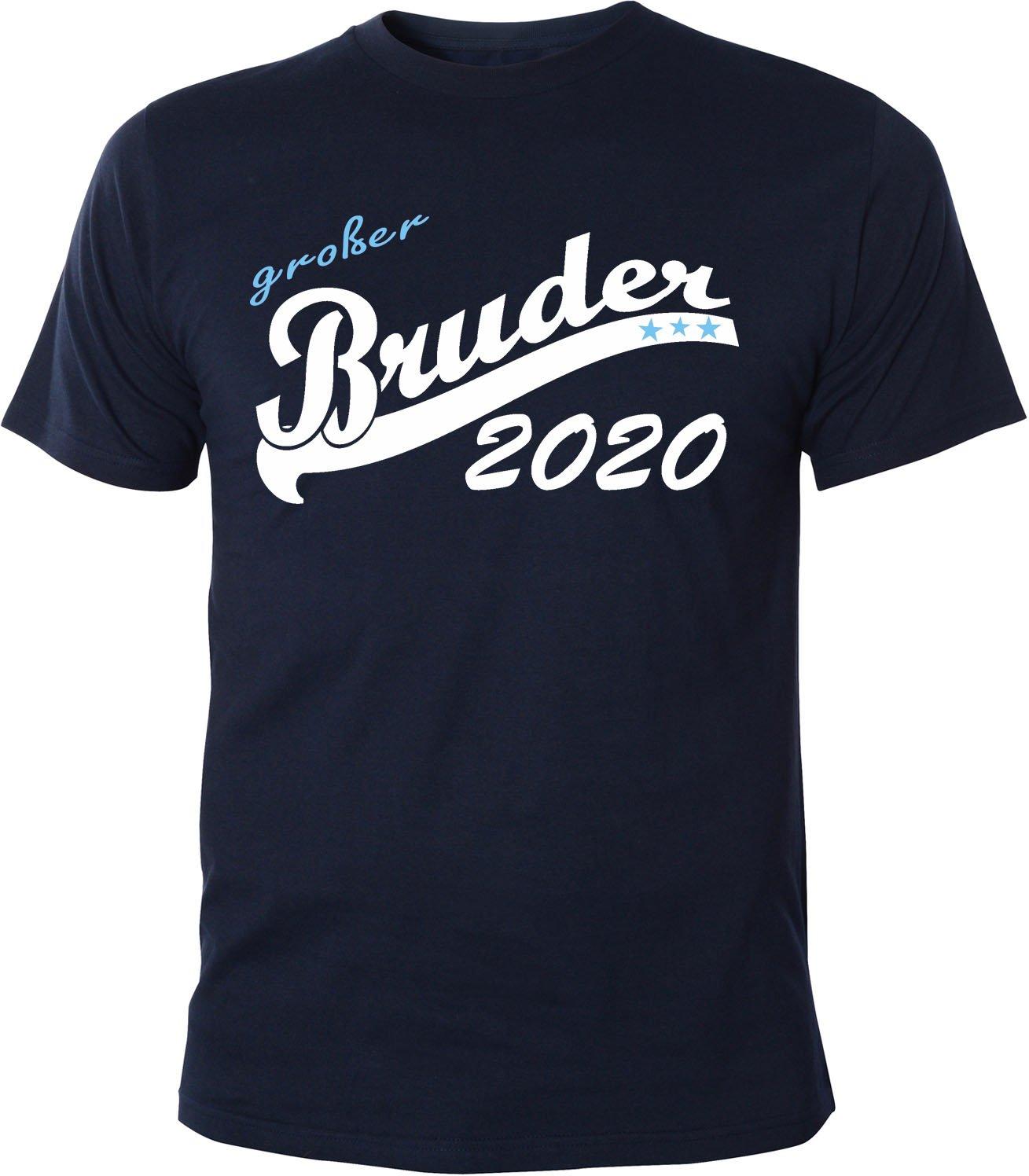 Mister Merchandise Herren Men T-Shirt Großer Bruder 2020 Tee Shirt Bedruckt:  Amazon.de: Bekleidung