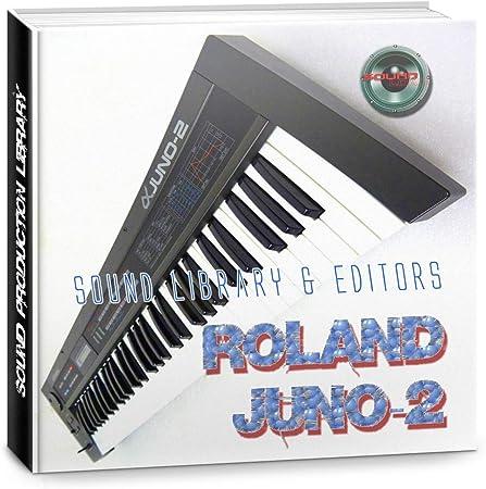 ROLAND Juno-2 enorme fábrica original y nueva biblioteca de ...