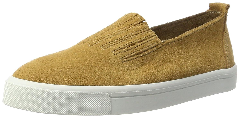 Minnetonka Damen Gabi Slip on Sneaker, Braun (Brown Brown), 40 EU