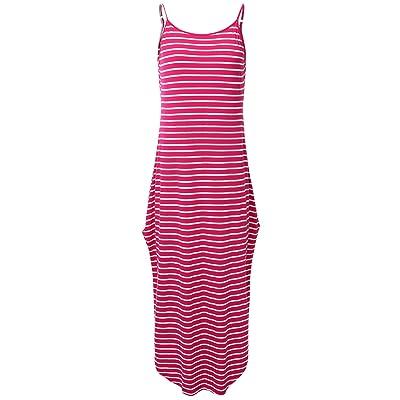 JayJay Women Boho High Low Casual Maxi U-Neck Short Sleeve Tie Dye Print Long Dress with Pocket