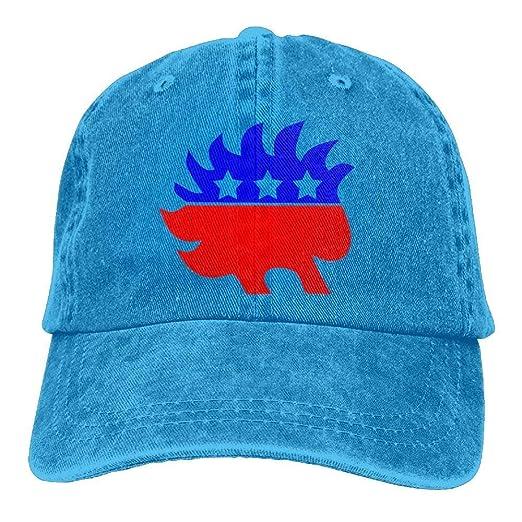 ac58fa0c8e722 Retro Libertarian Party Adult Cowboy Creating Trendy Baseball Caps ...
