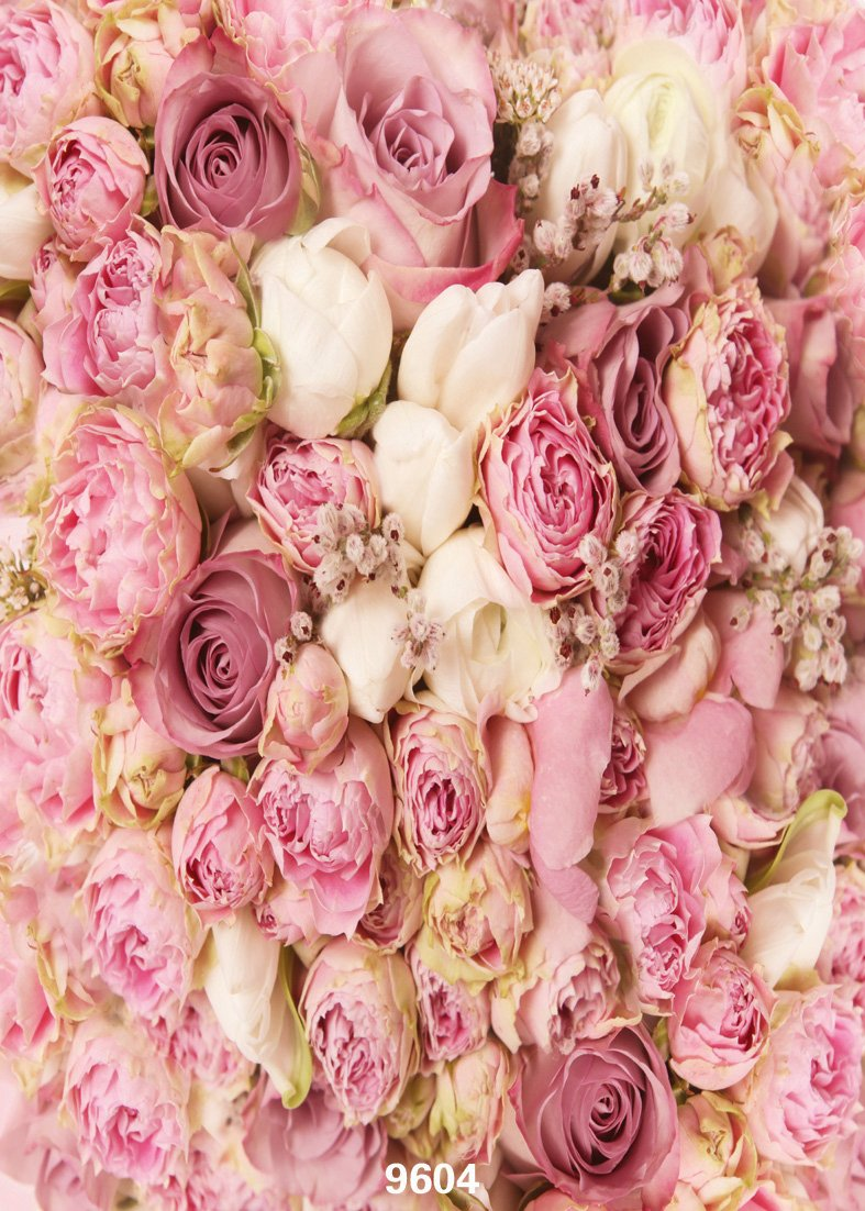 Amazoncom WOLADA 5X7ft Rose Flowers Wall
