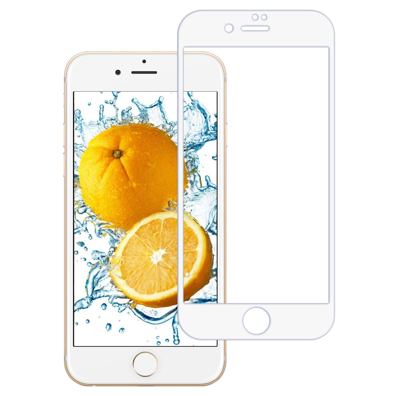 Protector Pantalla iPhone 8 Plus/7 Plus, ZXK CO 3D Full-Cover Cristal Vidrio Templado Protector de Pantalla 3D Curvo para iPhone 8 Plus/7 Plus 5,5