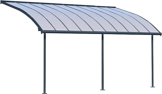 Palram Joya - Techo para terraza (295 x 619 cm), color gris: Amazon.es: Jardín