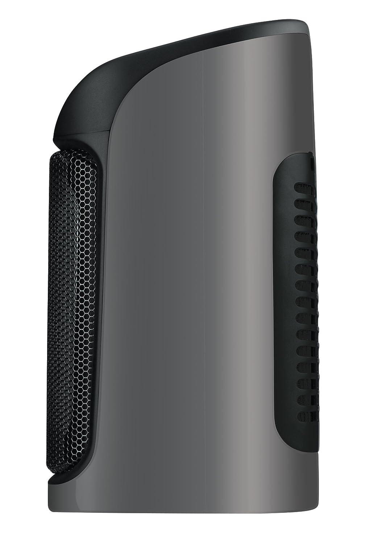 Rowenta SO9260F0 Radiateur Soufflant C/éramique Mini Excel Chauffage d/'Appoint 2 R/églages Temp/érature Chaud Protection Surchauffe Ventilation Froid Ventilateur 1800W Gris et Noir