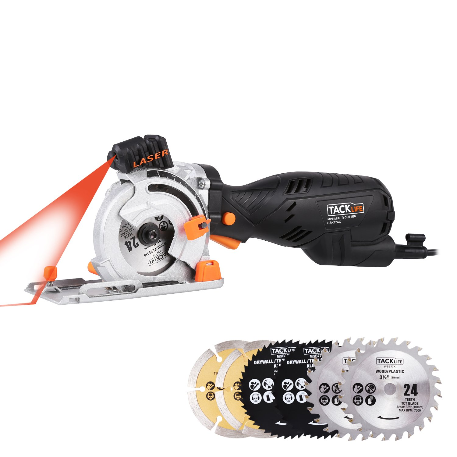Tacklife Mini Circular Saw review