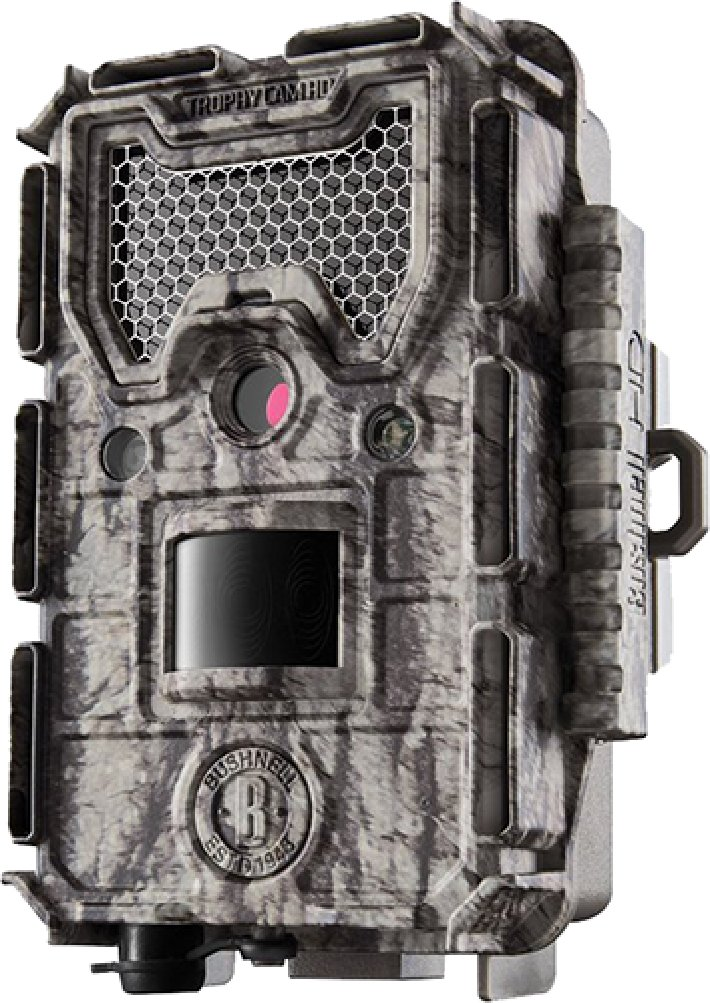 Bushnell 24MP Trophy Cam HD Low Glow Trail Camera with Color Viewer, Camo Camouflage