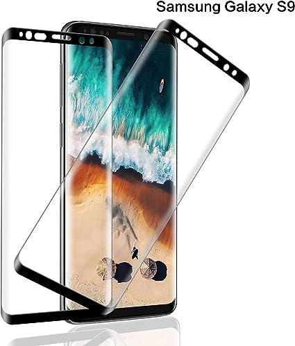 SNUNGPHIR® Samsung Galaxy S9 Cristal Templado Protector de ...