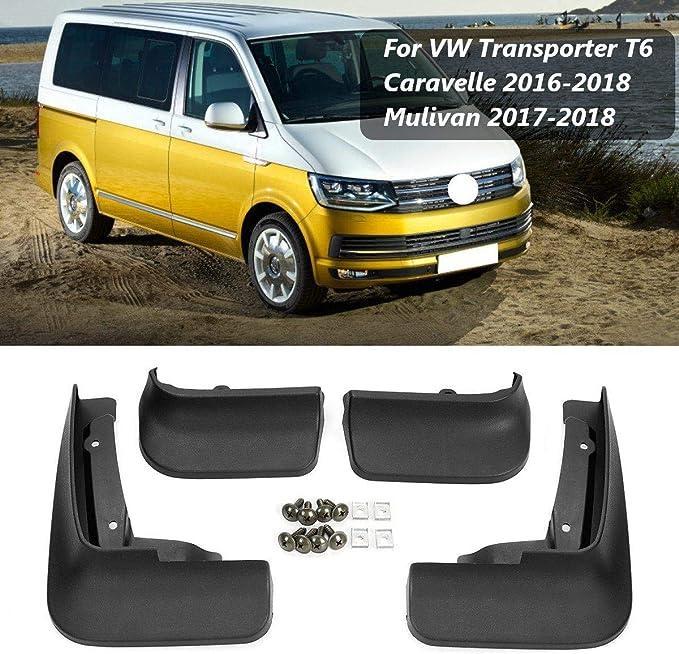 YXNVK Guardabarros Guardabarros Accesorios para Salpicaduras para Volkswagen VW Transporter T6 Multivan Caravelle 2019~2016
