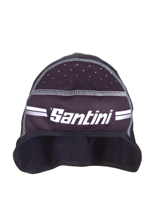 One Size Black Santini 365 Alpine Cap