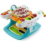 Baby Gear Baby Piano 4 in 1, con Oltre 12 Giocattoli e attività Tutto Intorno, DMR09