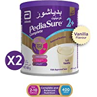 Pediasure 2+ vanilla  400 gm Twin Pack 10 Dhs  off