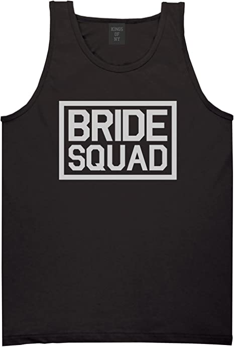 Kings Of NY Bride Squad Bachlorette Party Mens Tank Top Shirt