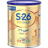 Wyeth Nutrition S26 Pro Gold Stage 1, 0-6 Months Premium Starter Infant Formula for Babies Tin with Nutrilearn System - 400 gm