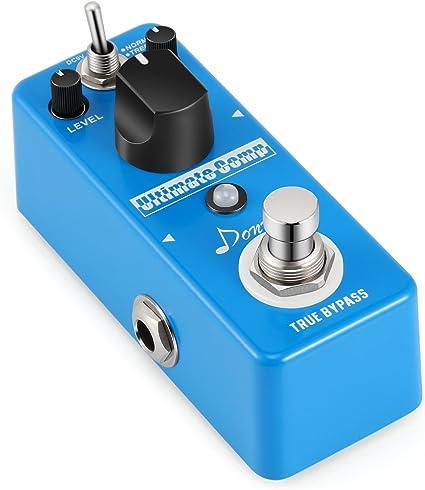 Donner Pedal de Efectos Compresor para Guitarra Sonido Opción de ...