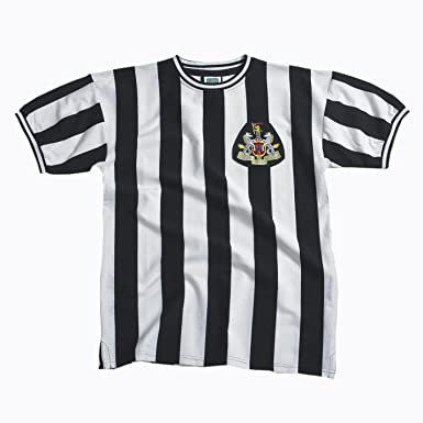 Score Draw Official Retro Newcastle - Camiseta de fútbol para hombre, tamaño XXL, color