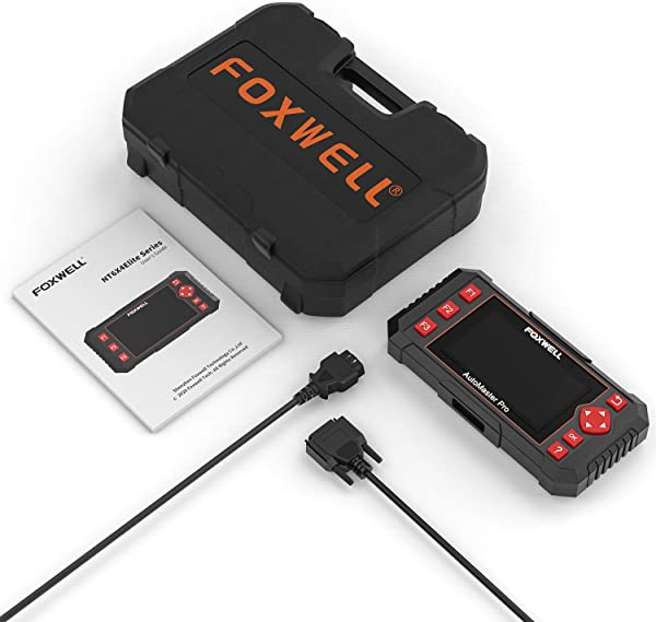 Foxwell NT604 Elite is perfect for anyone who needs a reliable car scanner that performs a comprehensive check on their car