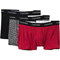 Calvin Klein Mens NP1952O Elements 3 Pack Trunks Trunks
