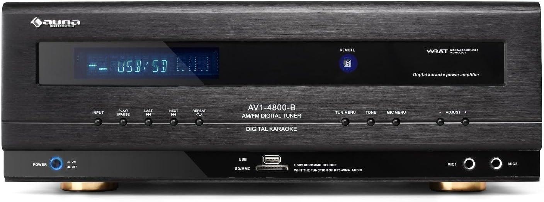 Auna AV1-4800 Amplificador y Receptor 5.1: Amazon.es: Electrónica