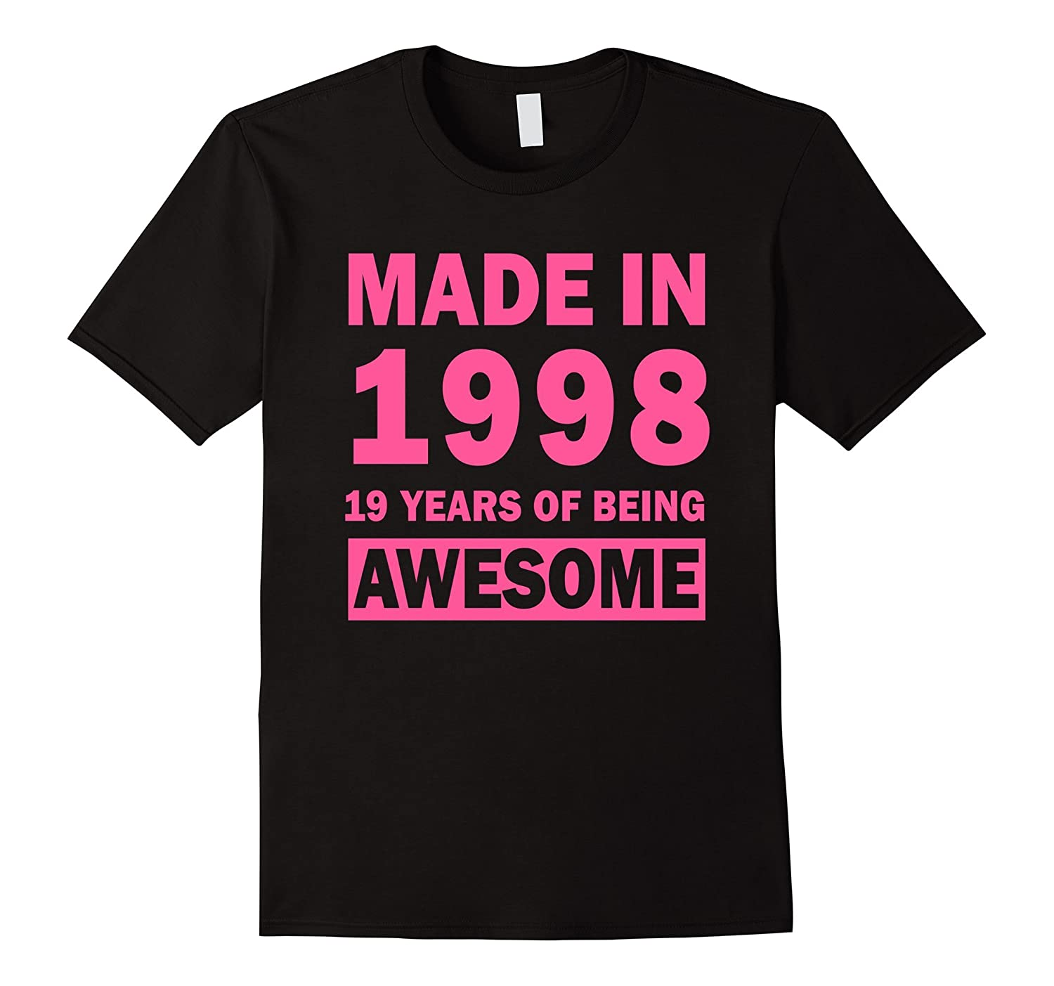 Made In 1998 19 Years Old 19th Birthday Gift Ideas For Her-TH