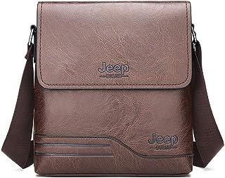 AliPro Tidal Herren Schultertasche, Vertikal Lässig Rucksack Business Travel Messenger Bag