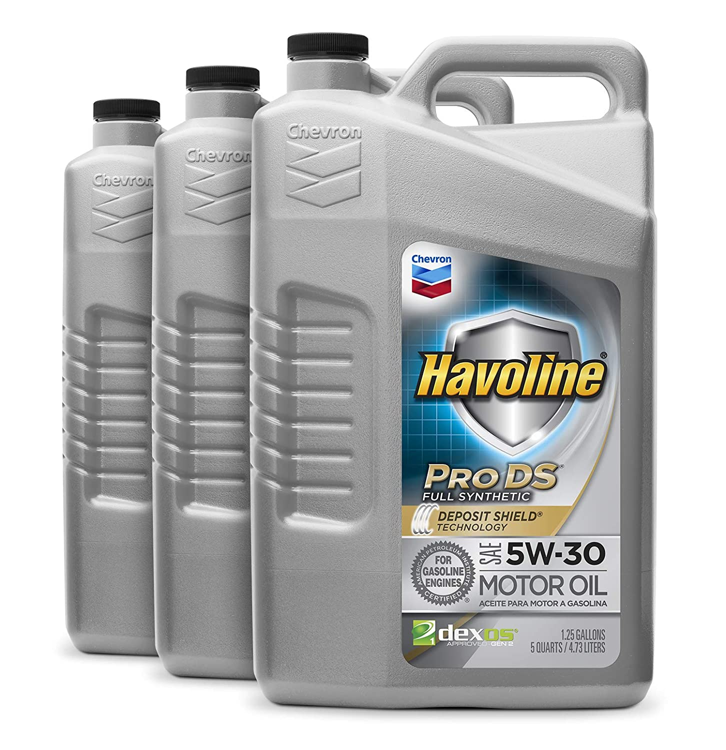Amazon.com: Havoline 223503727 5W-30 ProDS Full Synthetic Motor Oil - 1 qt.: Automotive