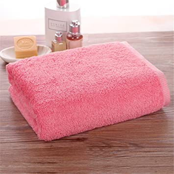 El campo de toallas de felpa adultos absorben el agua un par de toallas de baño: Amazon.es: Hogar