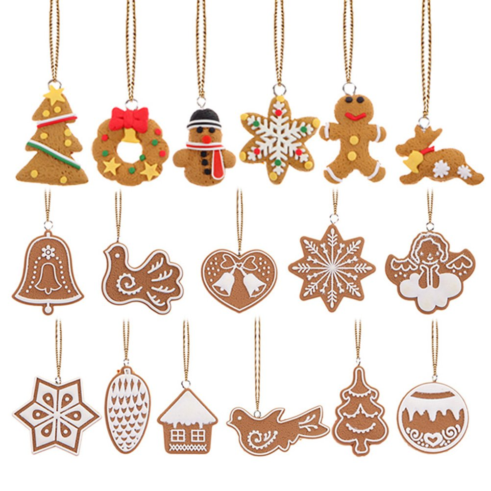 22b754c02c5e Tinksky Copo de nieve colgantes navidad adornos árbol de fiesta decoración  de Navidad ...