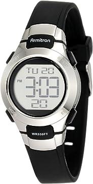 Armitron Sport Women's 45/7012NVSV Digital Watch with Matte Strap