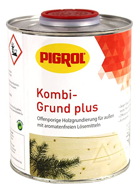 Pigrol Estate Base Plus Holzgrundierung 750 Ml Amazoncouk Diy