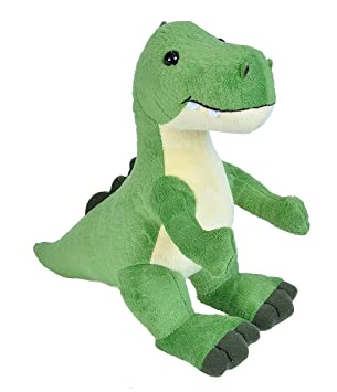 Amazon Com Wild Republic T Rex Dinosaur Stuffed Animal Plush Toy