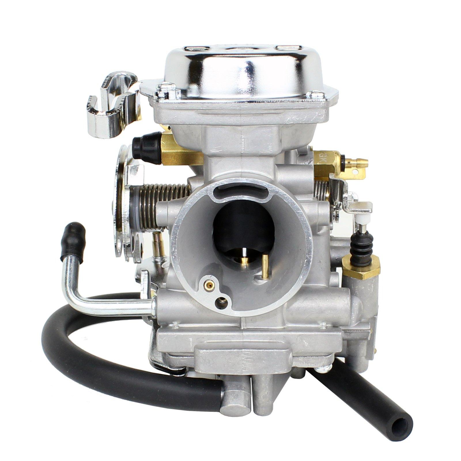 Caltric Carburetor Fits Yamaha Virago 250 Xv250 Xv Fuel Filter 1995 1996 1997 1998 1999 2007 Automotive