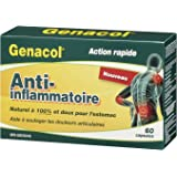 Genacol Anti-inflammatory (60 Capsule) contains a balanced combination of AminoLock Collagen and turmeric.