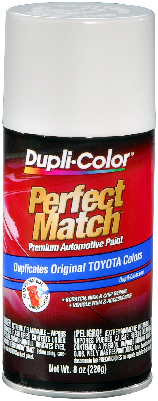 Amazon.com: Dupli-Color EBTY16077 Natural White Toyota Exact-Match Automotive Paint - 8 oz. Aerosol: Automotive