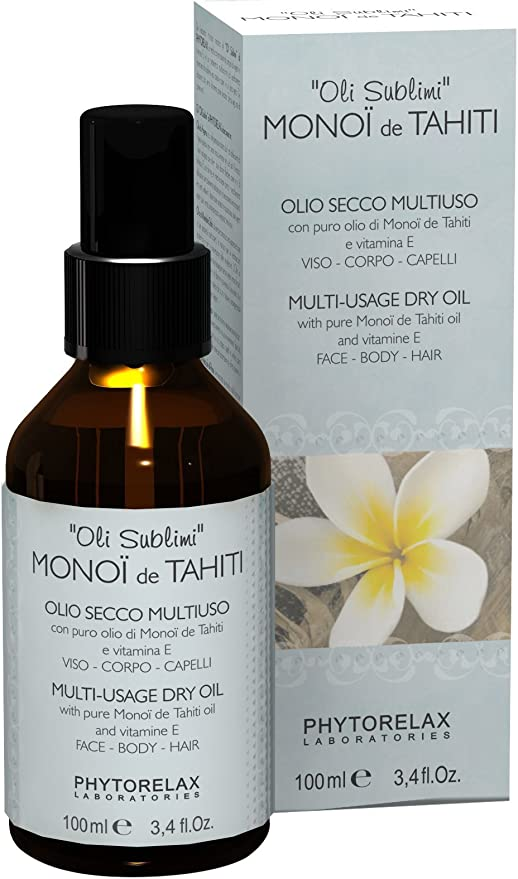 Phytorelax Dry Oil With Monoi De Tahiti Oil 100 Ml Amazon Co Uk Beauty