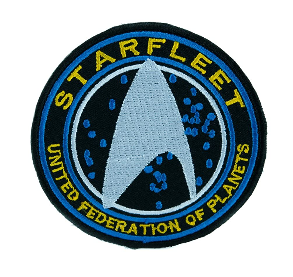 Starfleet Enterprise Star Trek Patch Iron on Applique United Federation of Planets